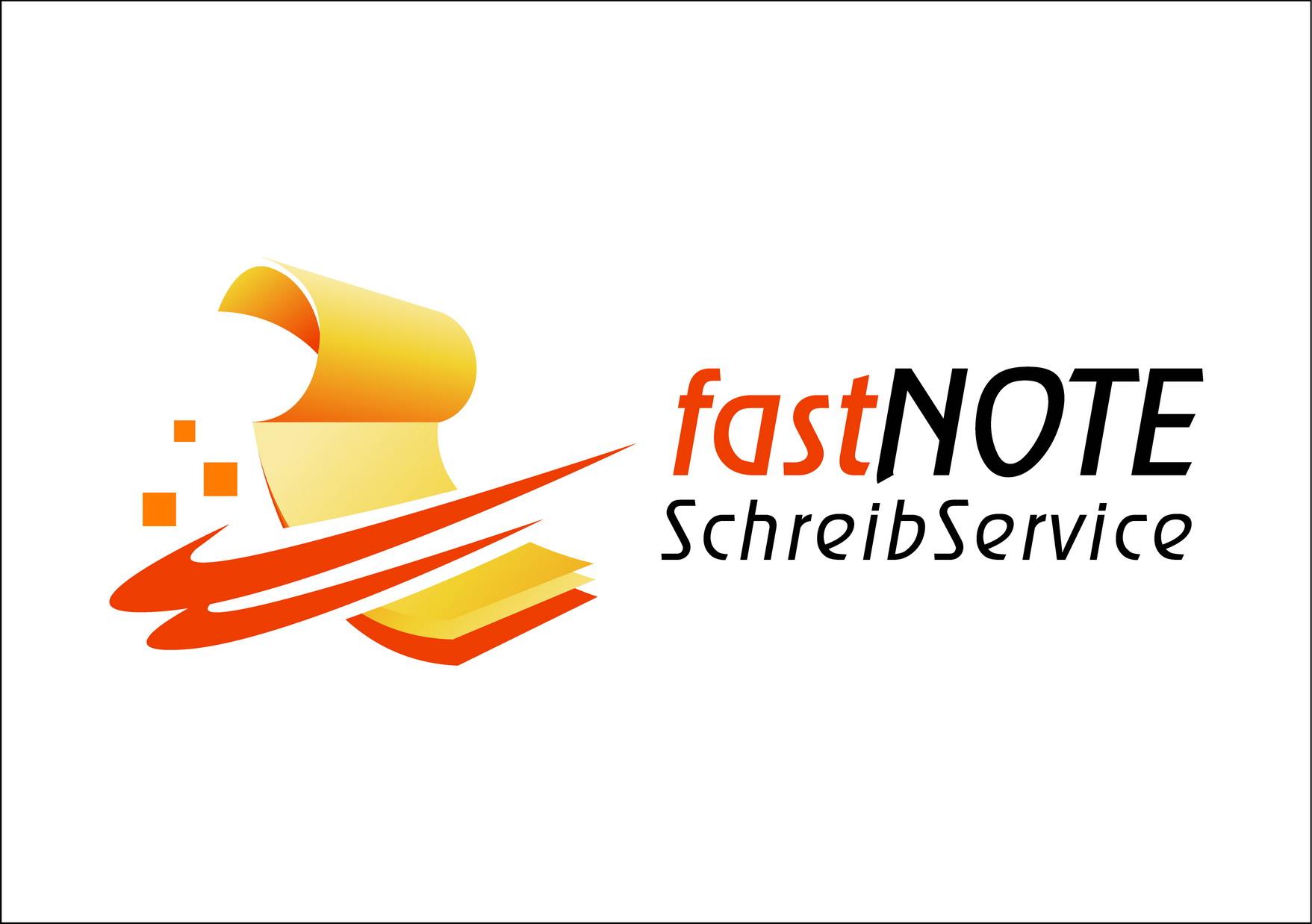 fastNOTE SchreibService Logo