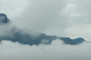 Berglandschaft im Norden Thailands