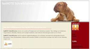 fastNOTE SchreibService Blog