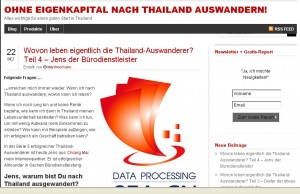Bürodienstleister Thailand
