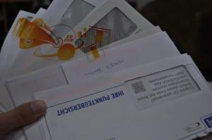 Post-Mailing, Postrückläufer
