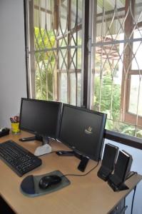 Büroservice Kronberg Arbeitsplatz in Chiang Mai