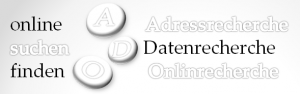 Büroservice Adressrecherche Datenrecherche online