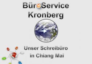 Büroservice und Schreibbüro in Chiang Mai