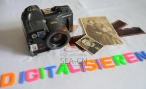 Digitalisieren von alten Negativen für Fotoartikel