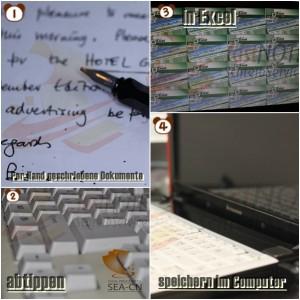 Handschriftlichen Fragenkatalog digital erfassen