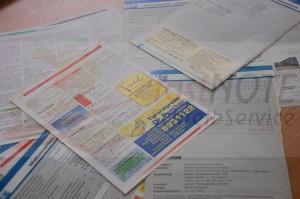 Adressinformationen abtippen oder herauskopieren
