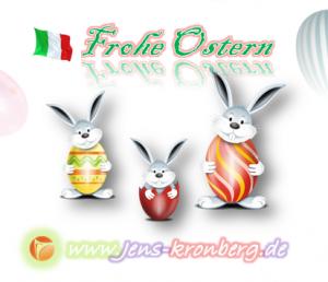 BüroService Kronberg und fastNOTE SchreibService wünscht seinen Kunden in Italien Frohe Ostern