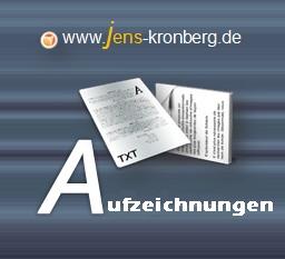 Schreibservice Glossar A - Aufzeichnungen