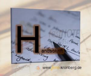 Schreibdienst: Handgeschriebene Vorlagen abtippen