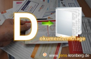 Schreibservice Glossar D - Dokumentenablage