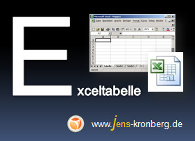 Schreibservice Glossar E - Exceltabelle