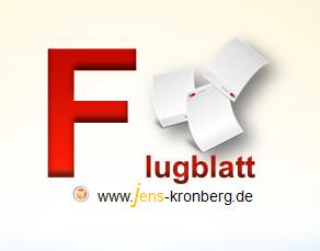 Schreibservice Glossar F - Flugblatt