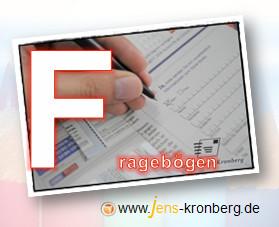 Schreibservice Glossar F - Fragebogen