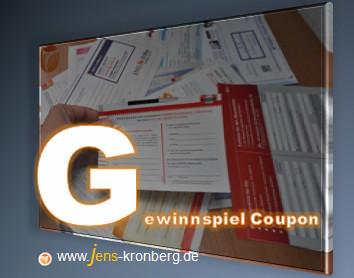 Schreibservice Glossar G - Gewinnspiel Coupon