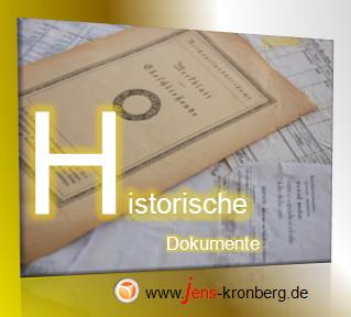 Schreibservice Glossar H - historische Dokumente