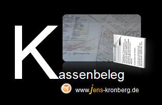Schreibservice Glossar K - Kassenbeleg