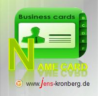 Schreibservice Glossar N - Name card