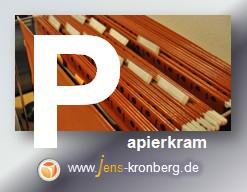 Schreibservice Glossar P - Papierkram