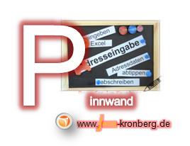 Schreibservice Glossar P - Pinnwand