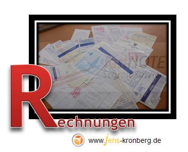 Schreibservice Glossar R - Rechnungen