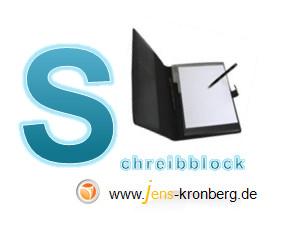 Schreibservice Glossar S - Schreibblock