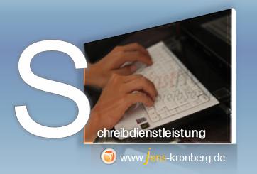 Schreibservice Glossar S - Schreibdienstleistung