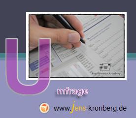 Schreibservice Glossar U - Umfrage