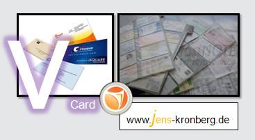 Schreibservice Glossar V - vCard