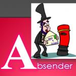 fastNOTE SchreibService Glossar - Absender
