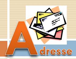 Glossar fastNOTE SchreibService - Adresse
