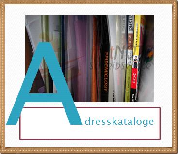 fastNOTE SchreibService Glossar - Adresskataloge