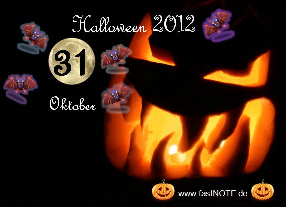Happy Halloween 31. Oktober 2012
