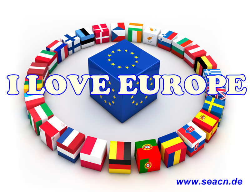 I love Europe SEA-CN Schreibservice Scanservice