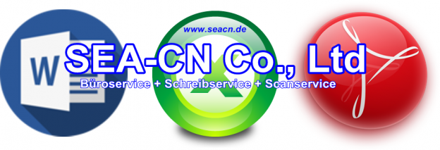 SEA-CN Co. Ltd Schreibservice