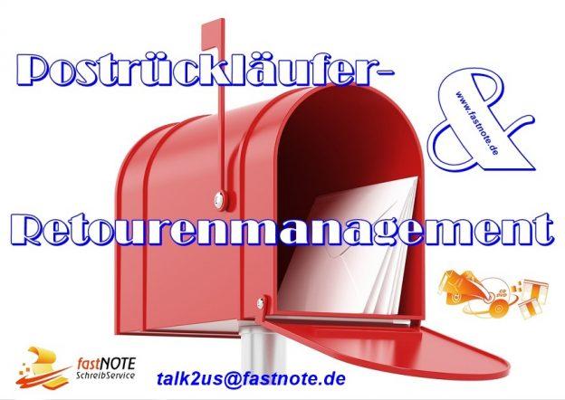 Postrückläufer- und Retourenmanagement