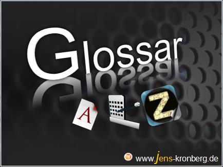 Büroservice Glossar A Z manuelle Schreibarbeiten