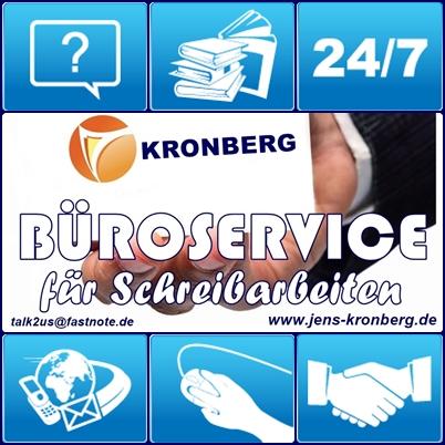 Kronberg Bueroservice kompetent und gewissenhaft